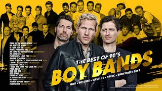 The Best of 90's Boy Bands (Michael Learns To Rock / Boyzone / Westlife / Nsync / Backstreet Boys)