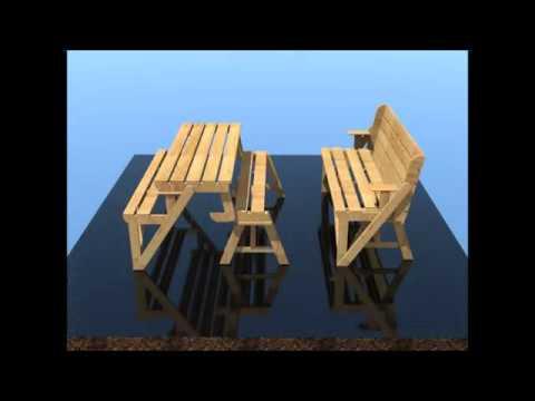 навес - Дачный стол трансформер своими руками - 0