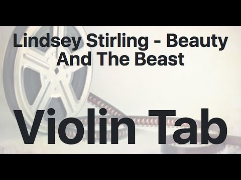 Learn Lindsey Stirling - Beauty And The Beast On Violin - How To Play Tutorial