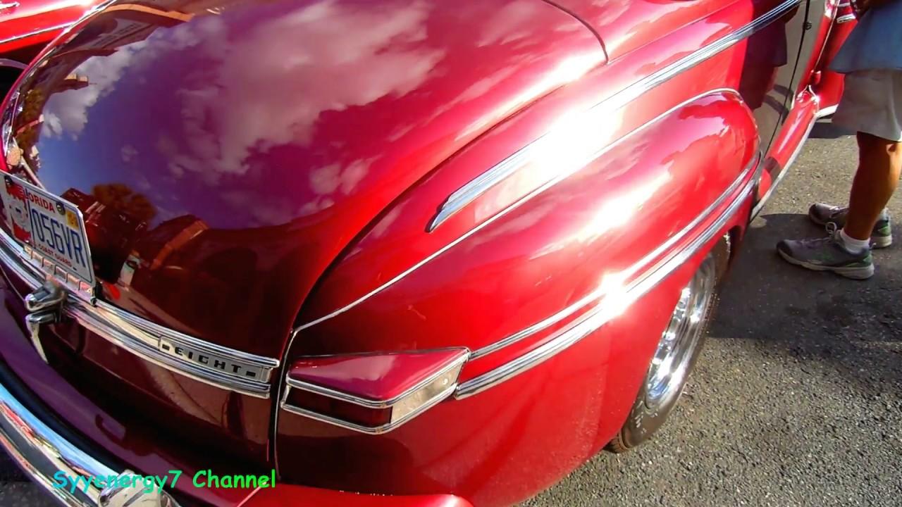 1948 Mercury Convertible Youtube 1941 Eight Coupe