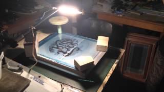 Трафаретная печать на футболках(Шелкография на футболках., 2014-06-23T14:48:07.000Z)