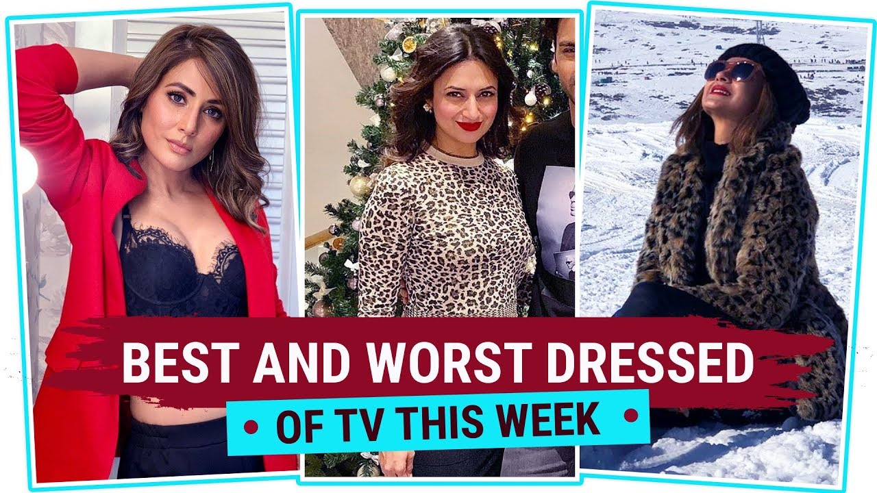 Hina Khan, Divyanka Tripathi, Jennifer Winget: TV's Best and Worst Dressed of the Week | Pinkvi