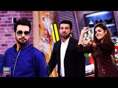 """""""Ab to Peena Paray Ga"""" is played by Faysal Qureshi, Isha Noor & Waqas Siddiqui"""