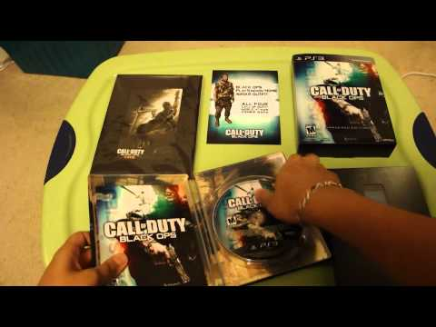 Unboxing The Call Of Duty: Black Ops Hardened Edition