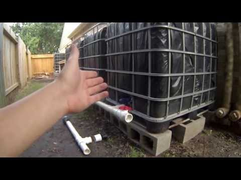 Step 5 - IBC Rainwater Harvesting System - Connecting and Venting Tanks