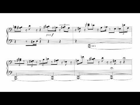 甲斐説宗 Sesshu Kai -  Musik für Klavier; Music for Piano (1974) played by Aki Takahashi (ca.1980)
