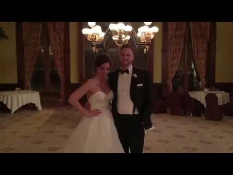 Music Man Entertainment Testimonials | Ashley & Patrick | 11/12/16 | The Canfield Casino | Saratoga