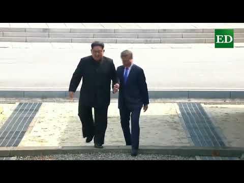 Así fue el encuentro de las dos Coreas
