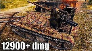 Grille 15 тактика пт-сау 🌟 12900+ dmg 🌟 World of Tanks максимальный урон на Гриль 15