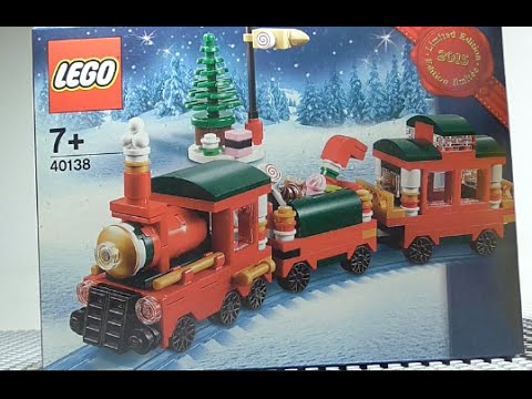 Lego Creator LIMITED EDITION Winter Train 2015 Holiday free gift ...
