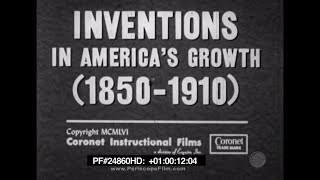 Inventions In America's Growth (1850-1910) - Phonograph, Telephone, Electric Lamp 24860 HD