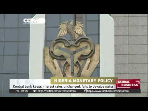 Nigeria central bank keeps interest rates unchanged, fails to devalue naira