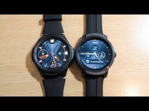 Mobvoi TicWatch S2 and E2 review