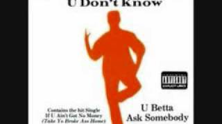 Raheem the Dream U Dont Know You betta ask Somebody (1992 AtL Classic)