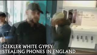 Székely, Szekler White Gypsy Stealing Phones in England Full Verison