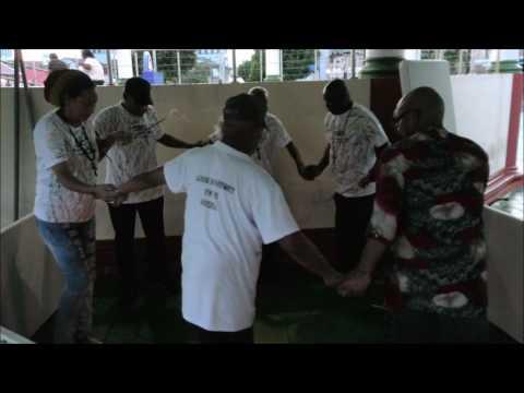 Warao People Thanks Giving Ceremony on Harris Promenade, San Fernando. Trinidad - October 8, 2016