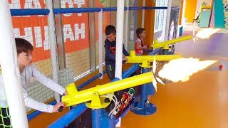 Funny baby Indoor Playground Family Fun Битва за детскую игровую площадку war Play Area for kids
