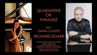 GéNIA's guest: conductor & harpsichordist Richard Egarr, Music Director, Academy of Ancient Music