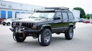 Davis AutoSports Stunning Stage 2 Cherokee XJ For Sale...Check This JEEP OUT !!!!!