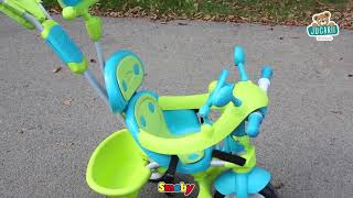 Tricicletă Baby Driver Confort Smoby de la vârsta