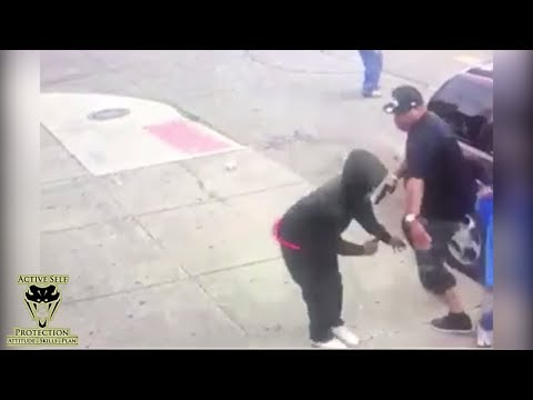 Defender with CCW Was Ready for Robber  Active Self Protection