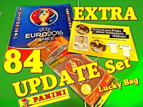 ⚽ Panini UPDATE SET EXTRA 84 new Sticker UEFA EURO 2016 France Frankreich EM Europameisterschaft No2