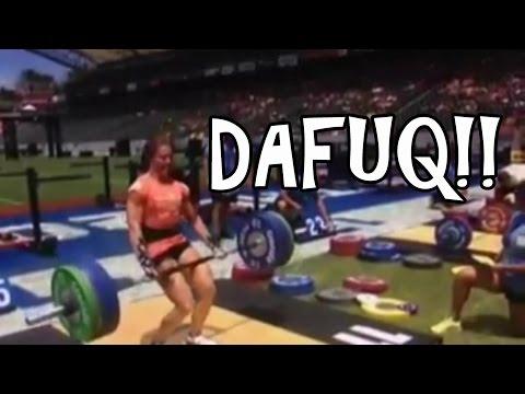 She Got That Lift My Ass! Crossfit Games 2014