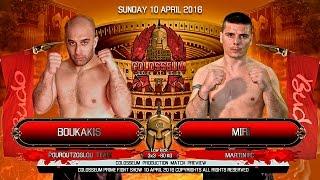 Colosseum Fight show April 2016 Video: Konstantinos Konstantinidis ...