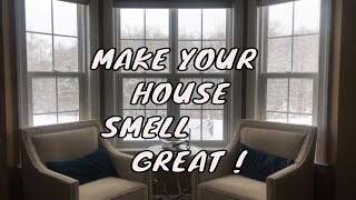 EASY WAY TO MAKE YOUR HOUSE SMELL GREAT || Ami