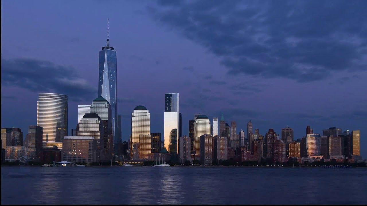 Incroyable time lapse de la ville de new york jour et for Ville a new york