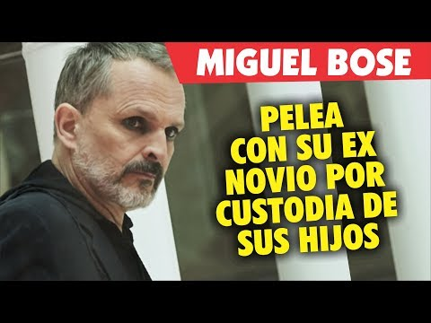 Miguel Bose en pleito legal con su ex Ignacio Palau