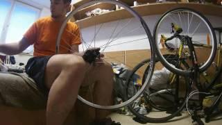 Vyplétání a centrování kola