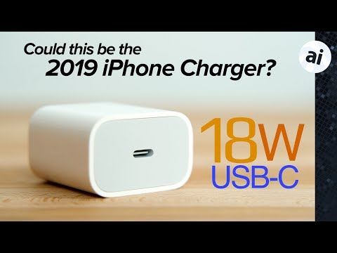Apple's 18W charger now available for iPhone fast charging!