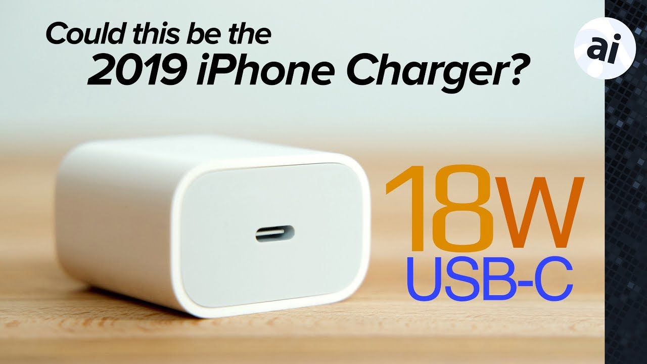 buy online c8a5a d6400 Apple's 18W charger now available for iPhone fast charging!
