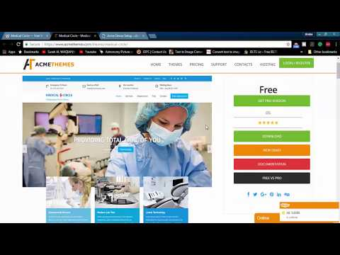 How To Make Medical Dental Website In WordPress