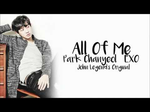 PARK CHANYEOL - ALL OF ME Lyrics