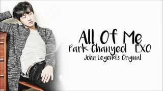 park chanyeol all of me lyrics