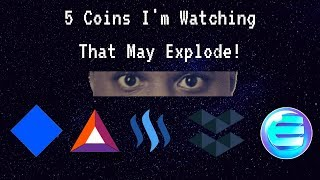5 Alt coins to watch | WAVES BAT STEEM ELA ENJ