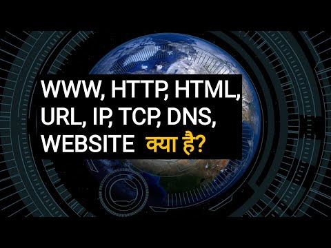 WWW, HTTP, HTML, Website Hyperlink,TCP, IP, URL, Domain Name, Packet Switching, Routing क्या है?