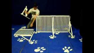 Freestanding Gate Extension : Assembly Video By Rover Company