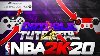 THE #1 BEST LOW BALL HANDLE DRIBBLEGOD TUTORIAL FOR BEGINNERS W/ HANDCAM! NBA 2K20 HOW TO TIER 2 ISO