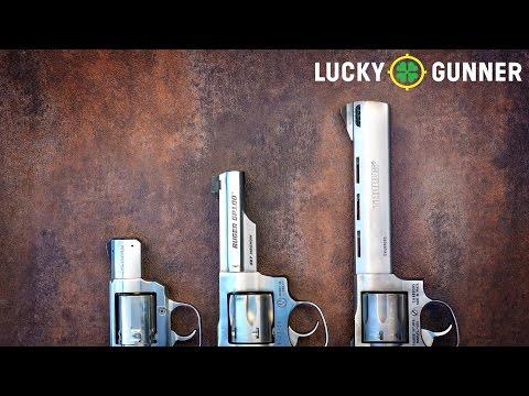 Revolver Velocity versus Barrel Length