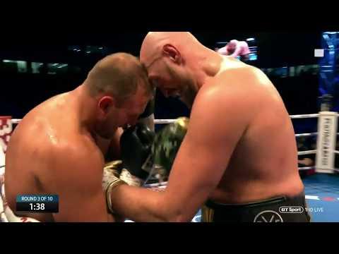 Tyson Fury vs Francesco Pianeta full fight at Windsor Park (Deontay Wilder)