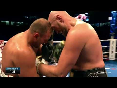 Tyson Fury vs Francesco Pianeta full fight at Windsor Park (Deontay Wilder)