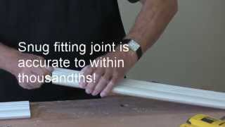 Incredible Joints Part 2 - How To Join Crown Moulding Using Dowelmax