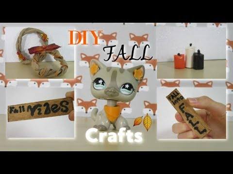 DIY LPS FALL DECORATIONS! - YouTube