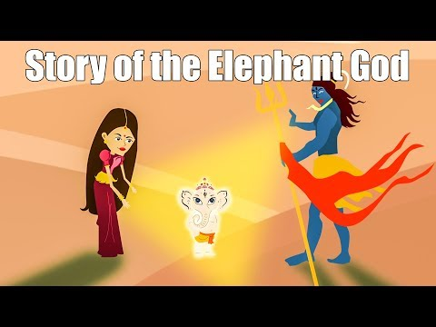 How Lord Ganesha got his Elephant Head? | Mythological Stories | Kids Animated Video | The openbook