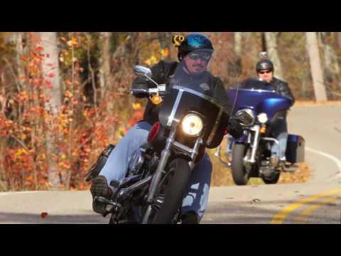 Tail of the Dragon - 2 Harleys and a Ninja