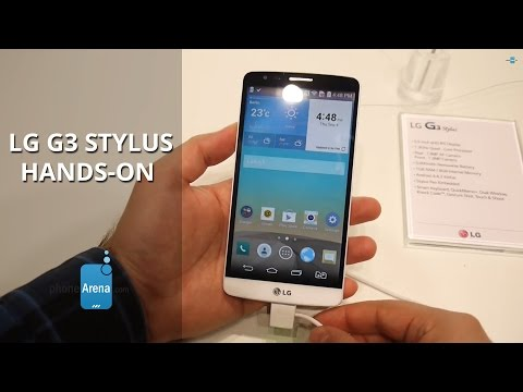 LG G3 Stylus hands-on