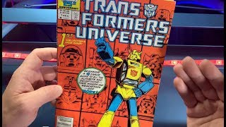 TRANSFORMERS UNIVERSE #1 review by 80sComics.com